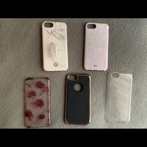 Lot of 5 iPhone 6/7/8 Protective Cases
